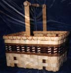 New Wooden Spindle Basket Kit