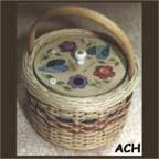 Lidded Button Basket by Jackson