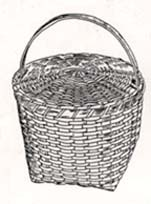 Shaker Feather Basket