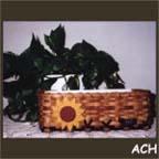 Sunflower Mail Basket