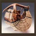 Antler Hen Basket