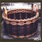 Plaid 1/2 Bushel Basket